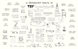 A Sketchnoted Tribute To TEDxConcordiaUPortland